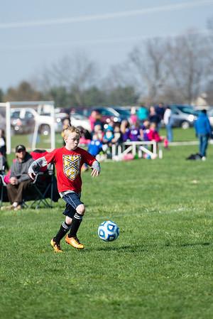 Colin Soccer Spring 2014